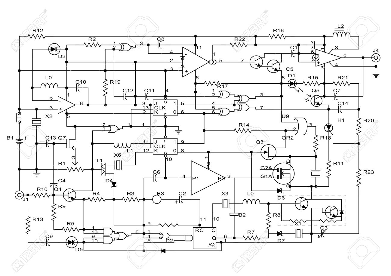 electronic schematic diagram free vehicle wiring diagrams u2022 rh narfiyanstudio com basic electronic circuit diagram pdf electronic projects circuit diagram pdf