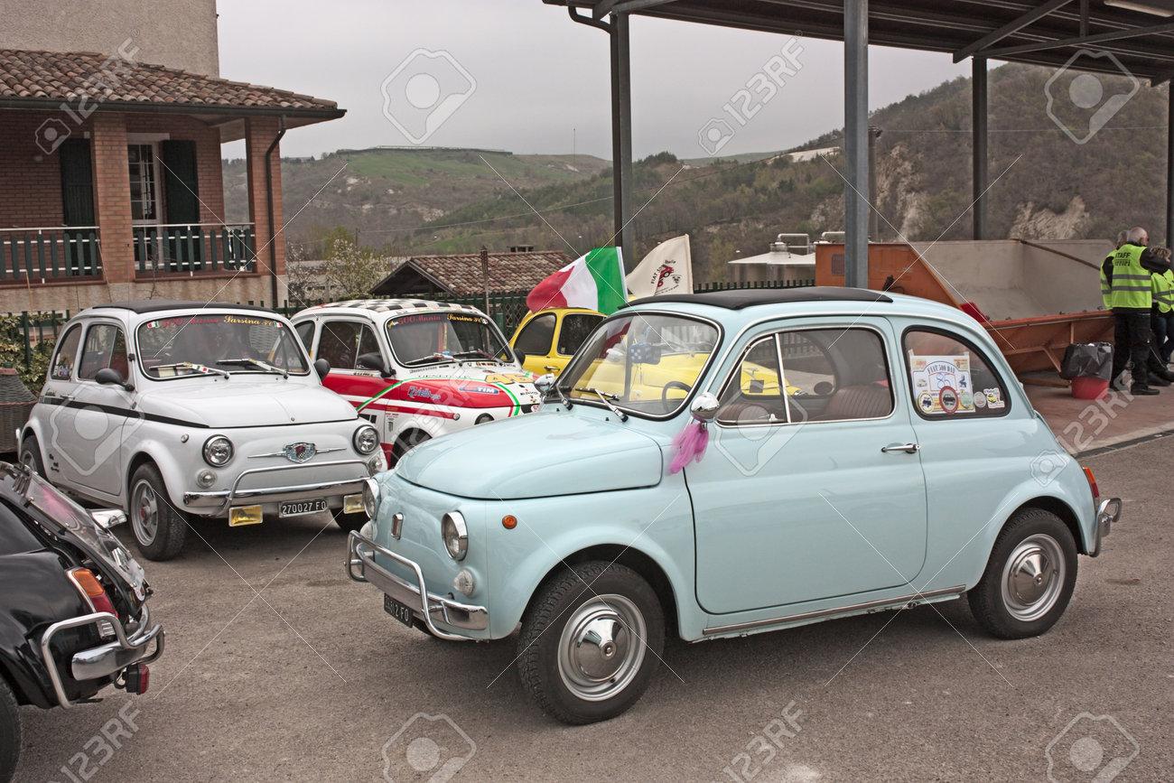 MERCATO SARACENO (FC) ITALY - APRIL 1: Old Italian Cars At ...