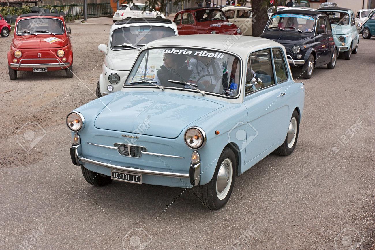 Vintage Small Car Autobianchi 500 Bianchina At \