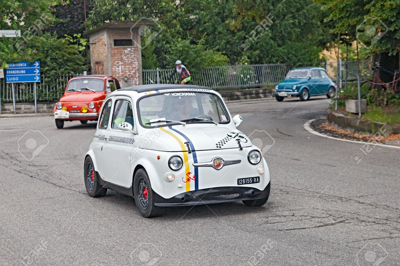 Vintage Tuning Fiat 500 Abarth In Rally 3 Raduno Auto E Moto