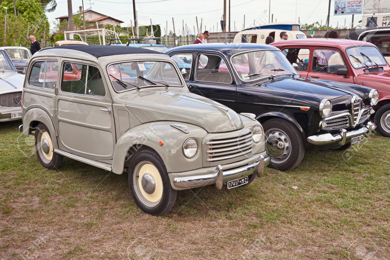 Classic Italian Car Fiat Topolino 500 C Belvedere 3-door Estate ...