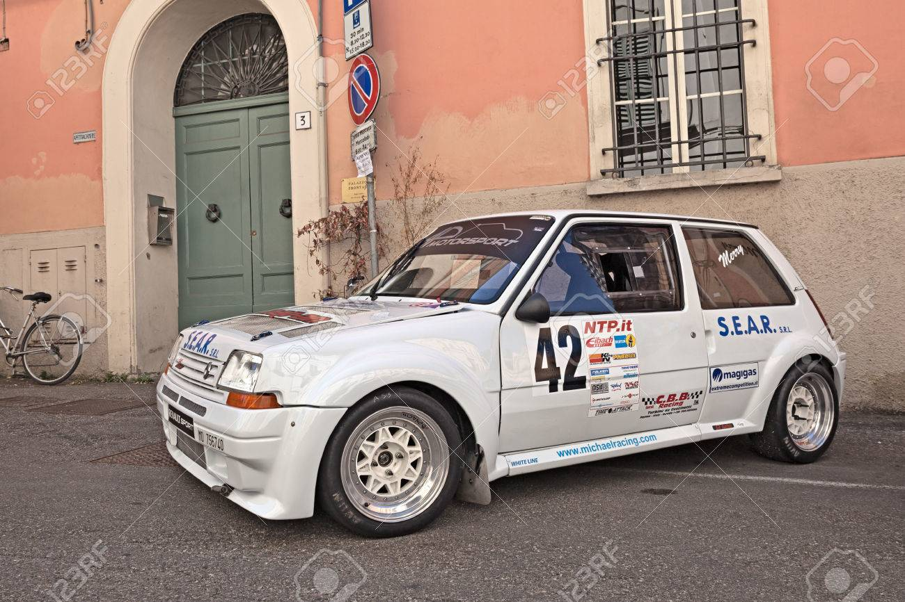 Vintage Rally Car Renault 5 Gt Turbo Exposed During The Meeting Stock Photo Picture And Royalty Free Image Image 60282795