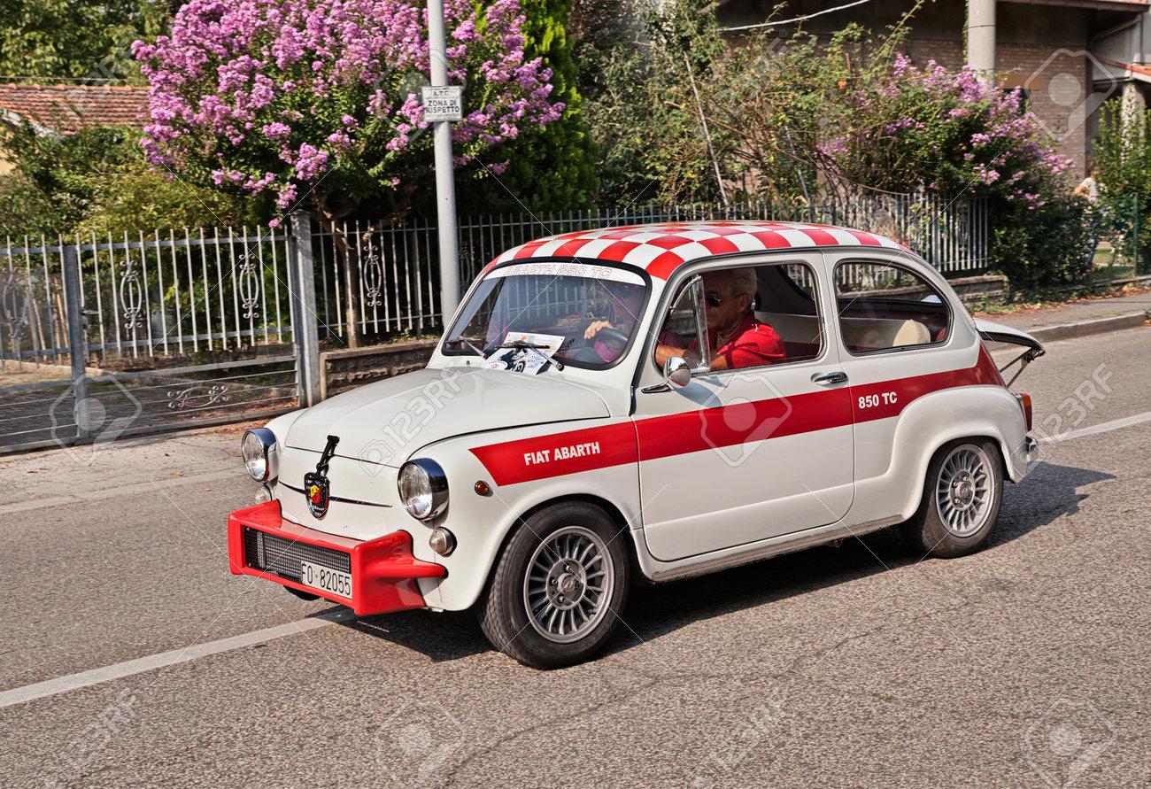Vintage Italian Sports Car Fiat Abarth 850 Tc Berlina Of The Stock