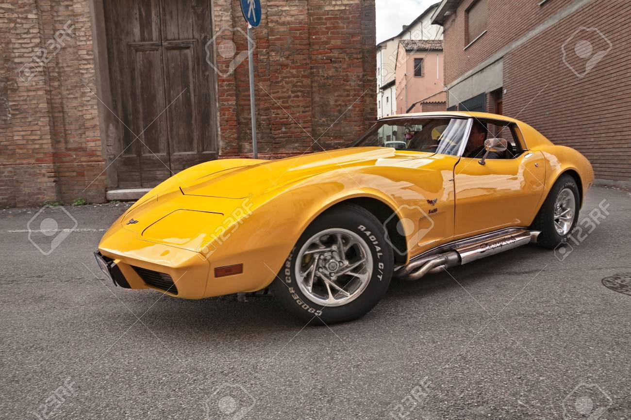 Classic American Sports Car Cheevrolet Corvette C3 Stingray Of Stock Photo Picture And Royalty Free Image Image 119315213