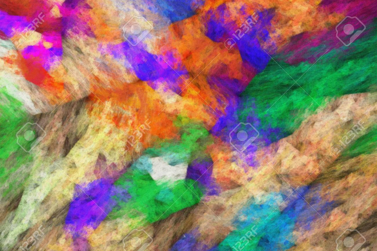 Abstract Impressionism Artworks