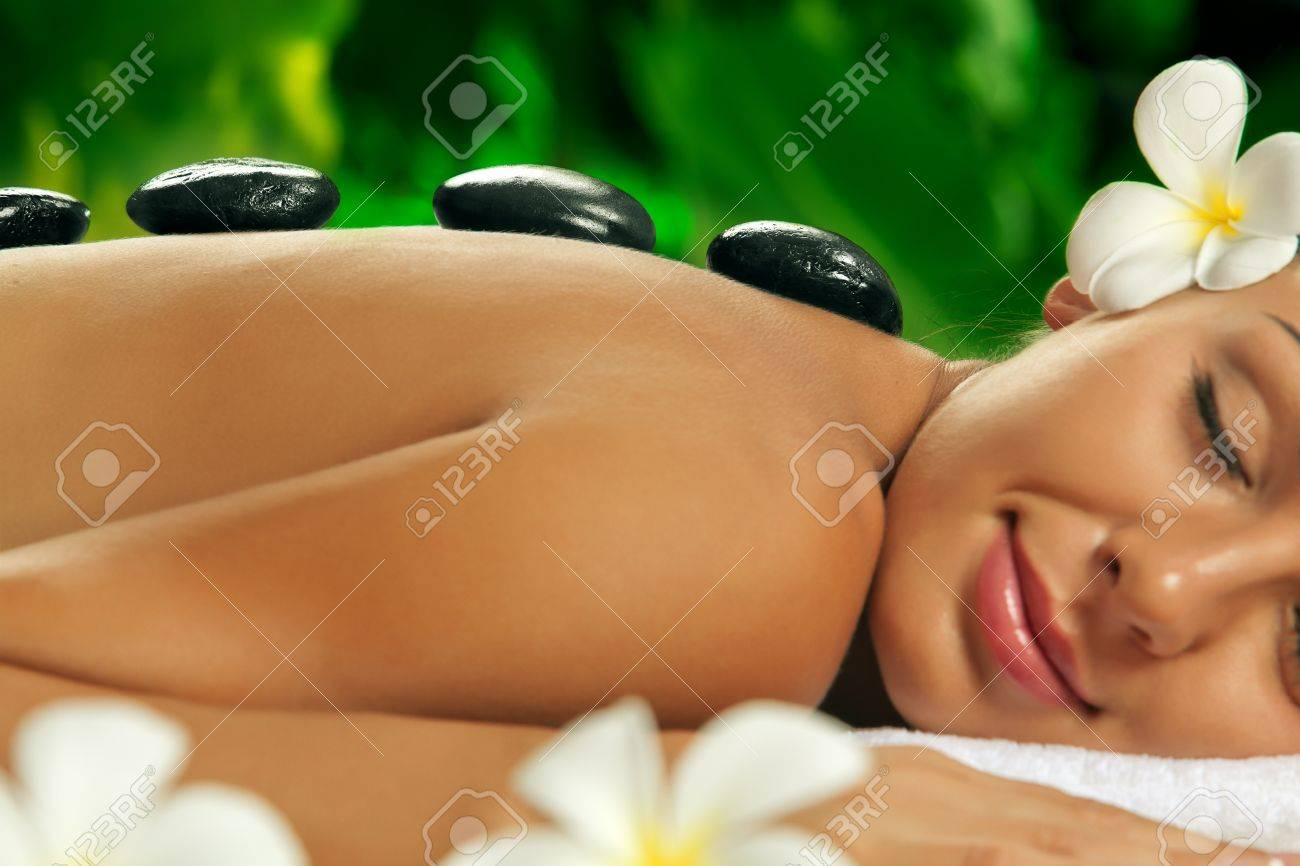portrait of young beautiful woman in spa environment Stock Photo - 14736730