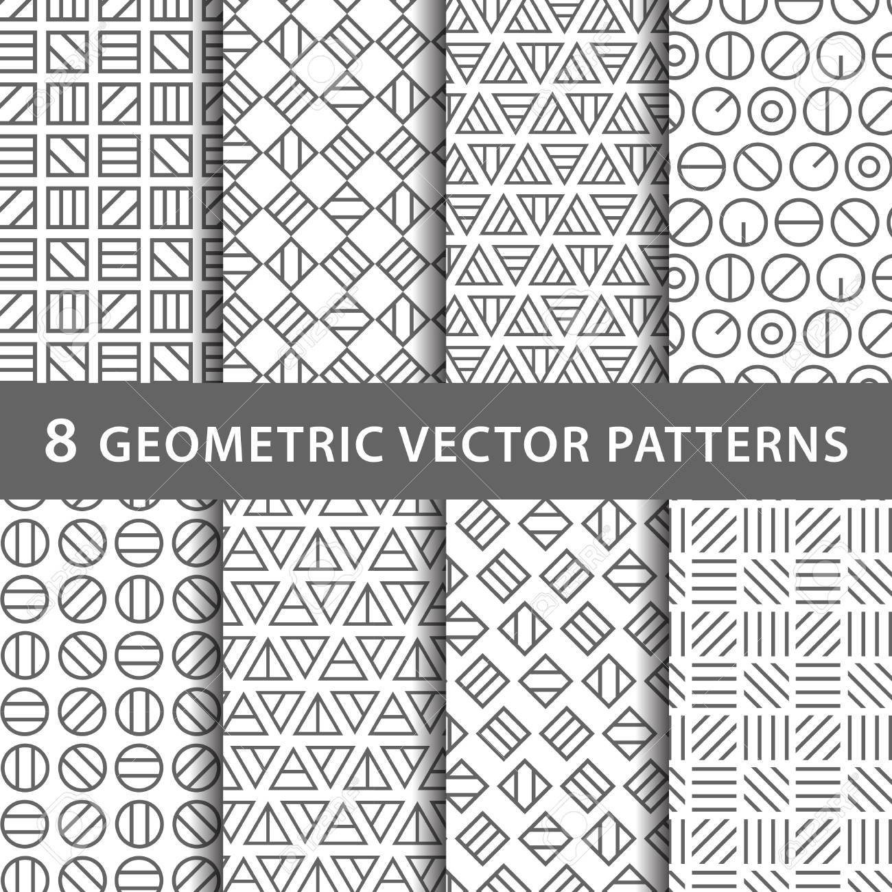 Geometric vector pattern pack - 59209055