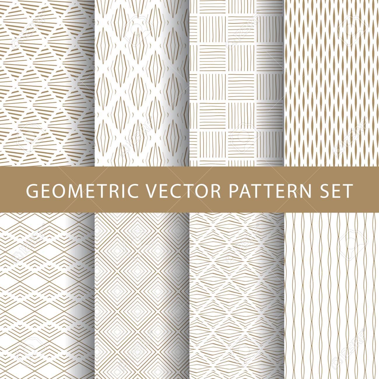 Luxury vector vintage pattern pack - 134585011