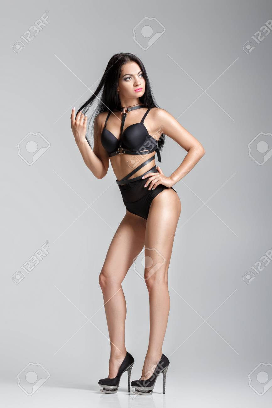Sexy Woman In Heels