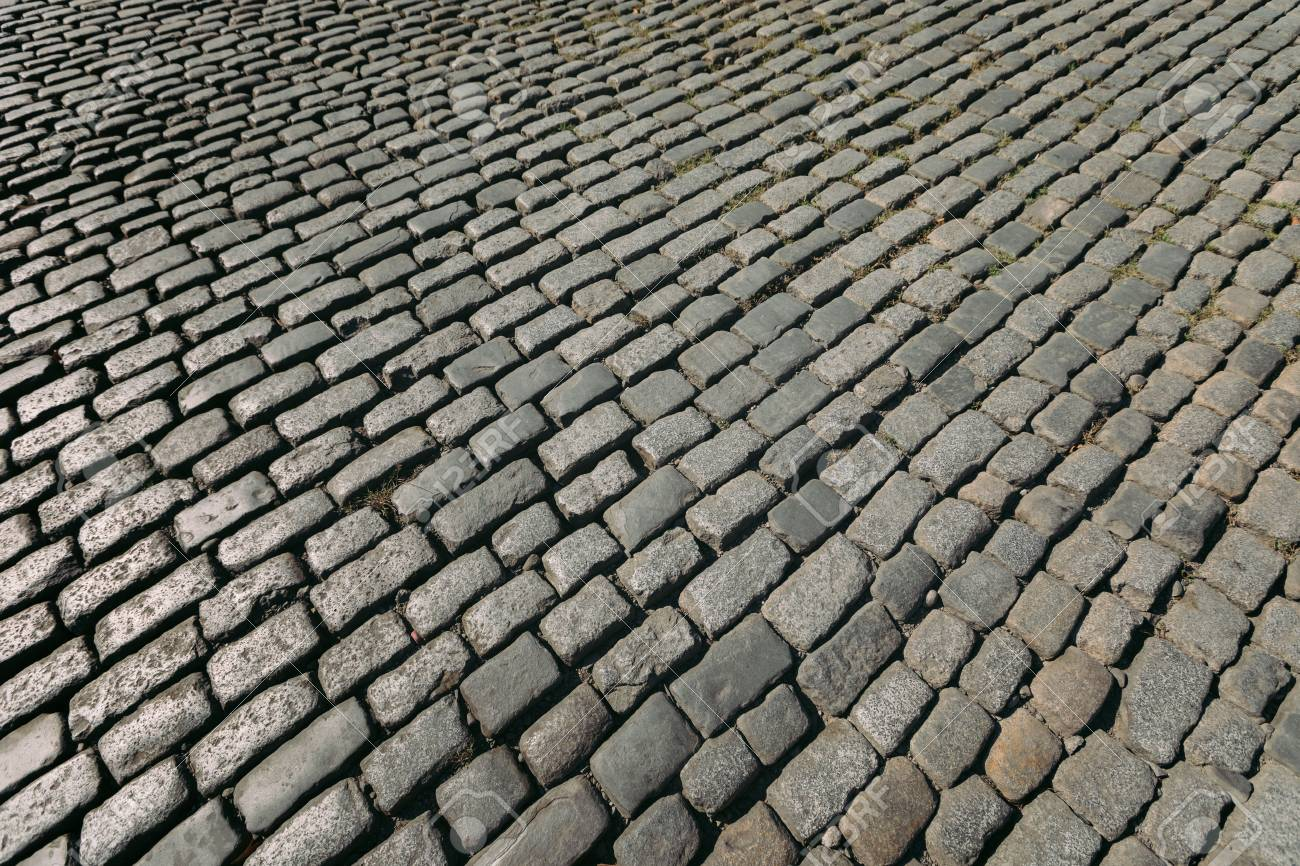 Old Paving Tiles Background Of Floor With Paving Stones Stock Photo Picture And Royalty Free Image Image 120543381