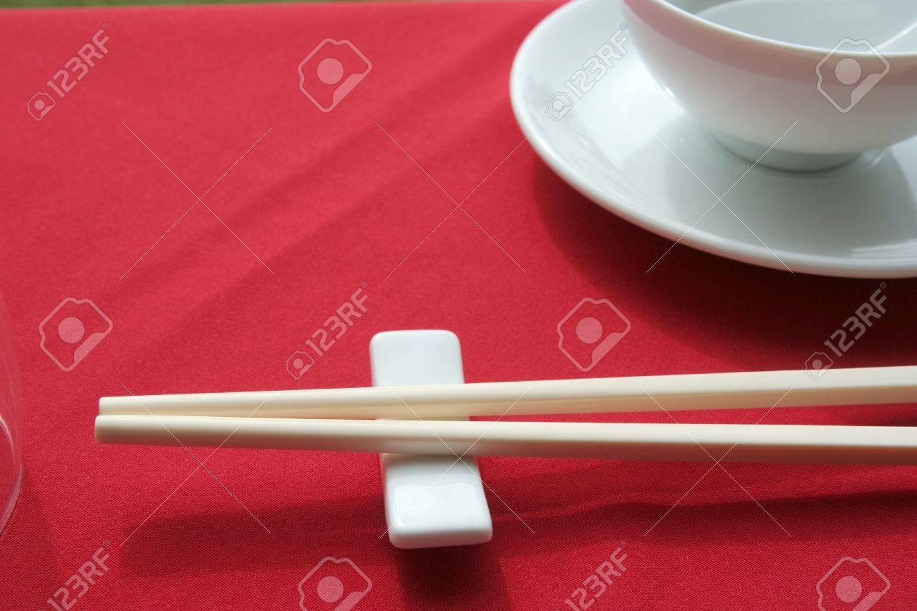 Restaurant table setup - Stock Photo Chinese Restaurant Table Set Up