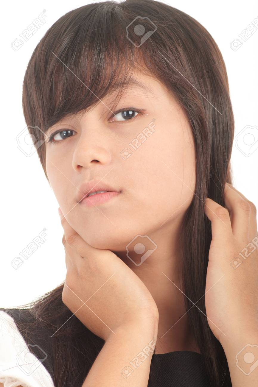 portrait of young asian woman Stock Photo - 4497123