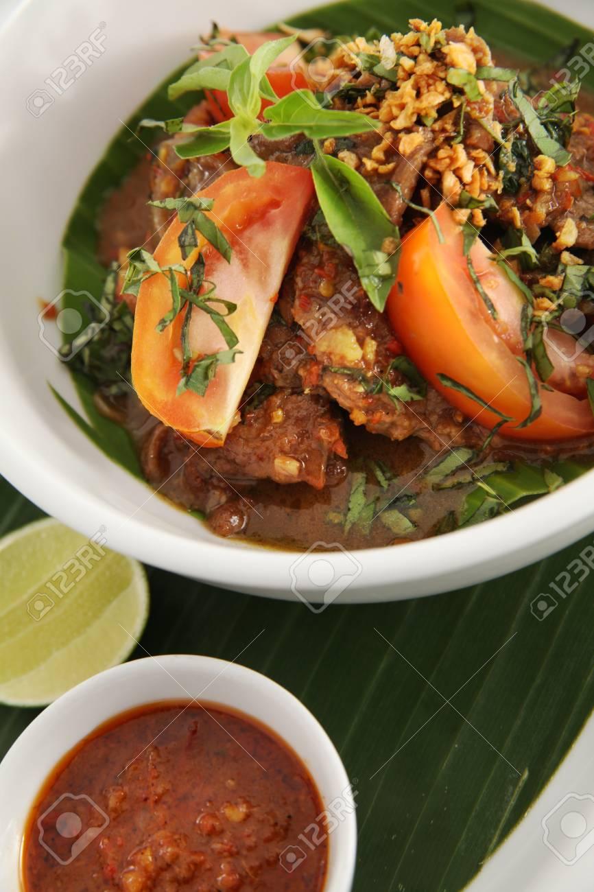 asian food named balado Stock Photo - 7731815