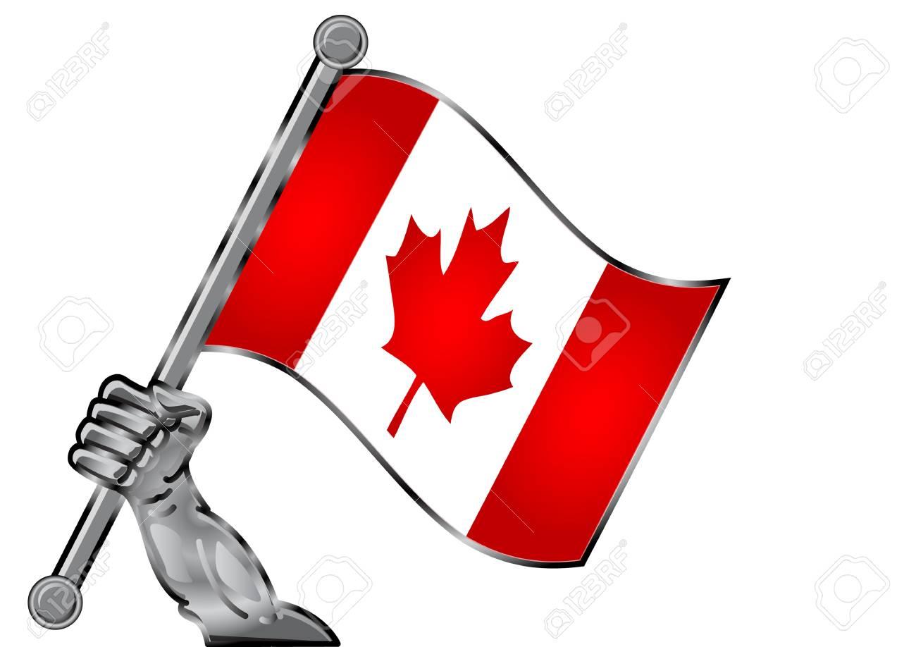 hand flag Stock Vector - 12125770
