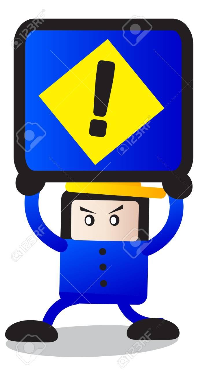 traffic sign Stock Vector - 12125916