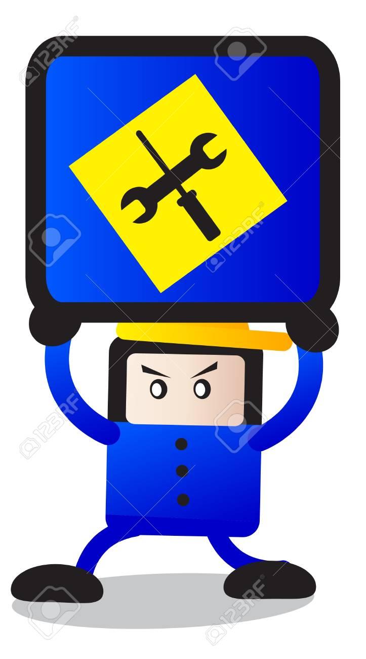traffic sign Stock Vector - 12125918