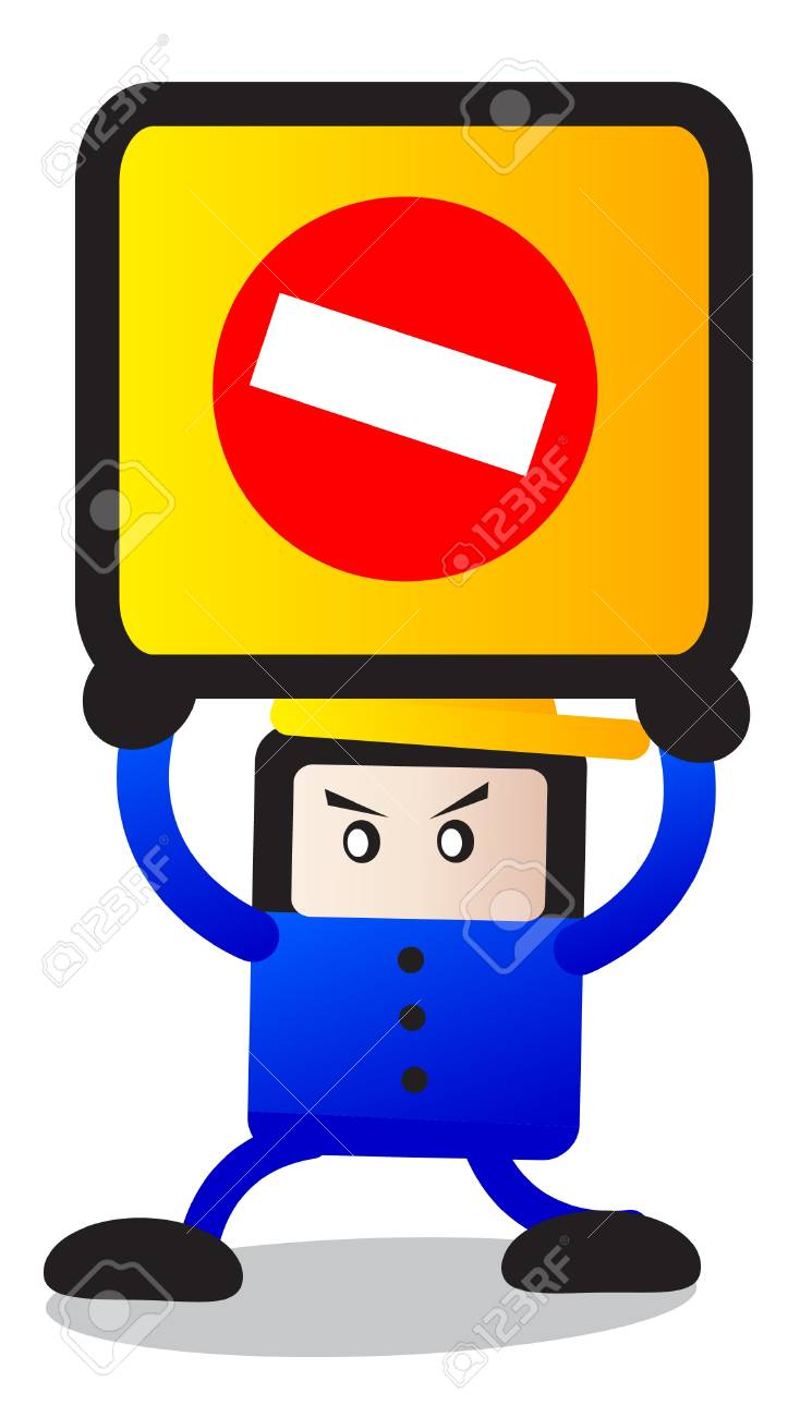traffic sign Stock Vector - 12125913