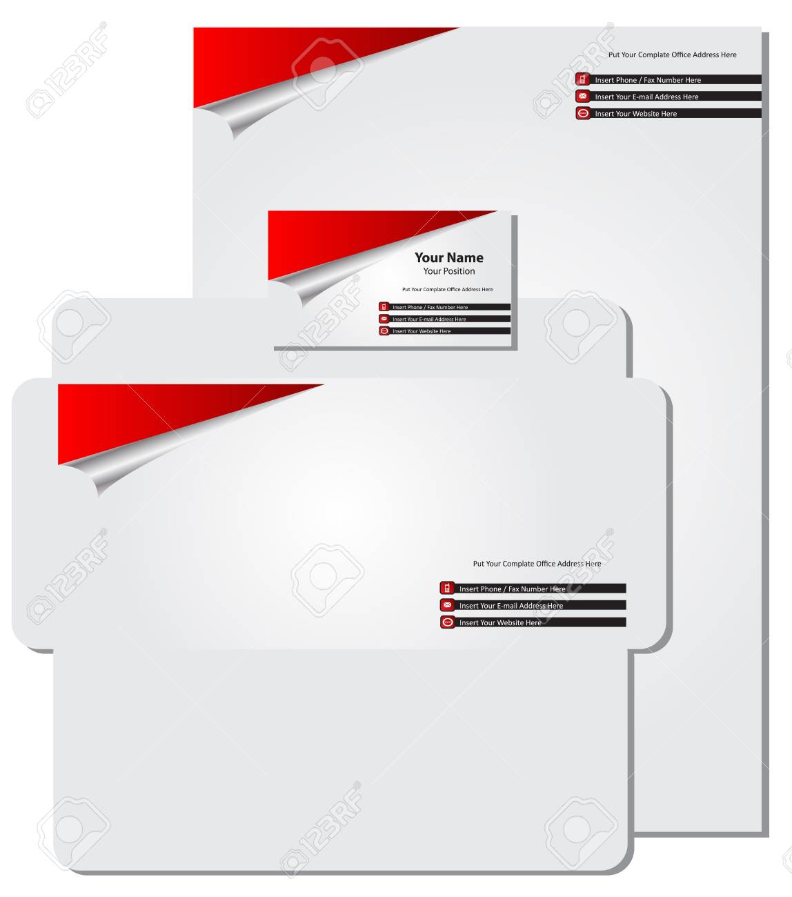 business card Stock Vector - 12288618