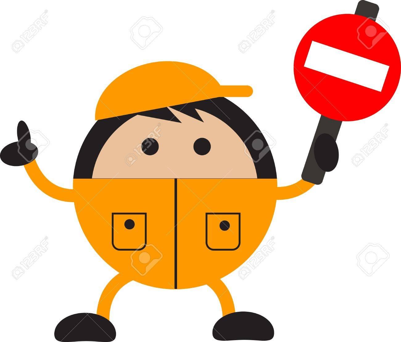 traffic sign Stock Vector - 12489916