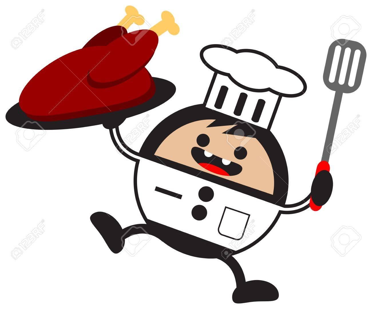cartoon chef Stock Vector - 12795720