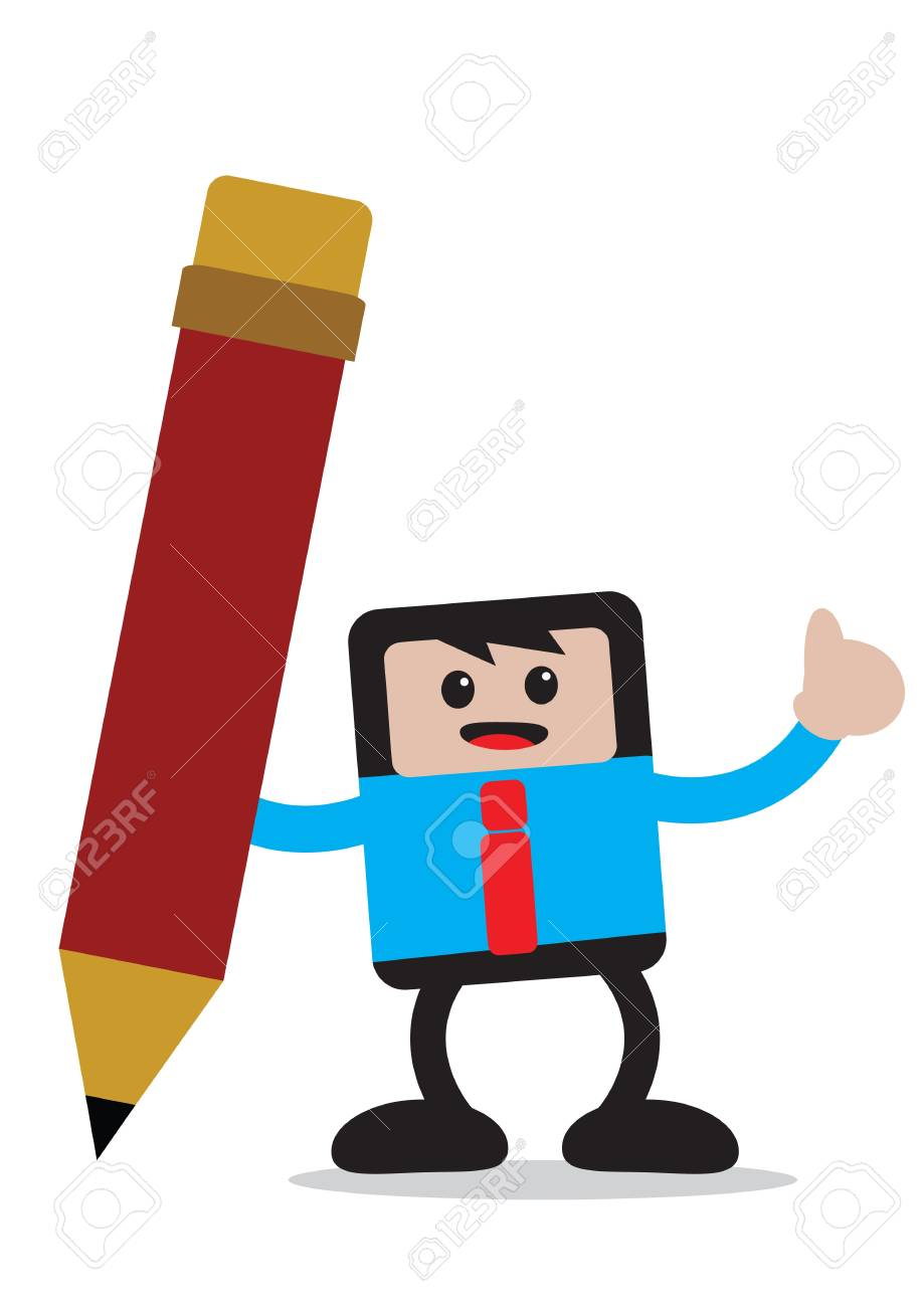 illustration vector graphic of businessman cartoon character in activity Stock Vector - 21851120