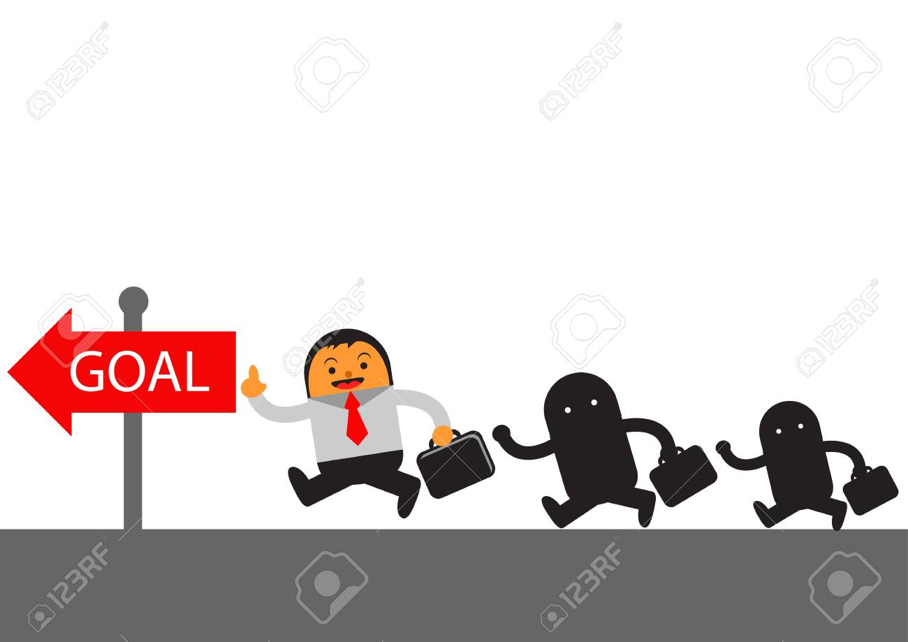 illustration vector graphic cartoon character of businessman in activity Stock Vector - 22070433