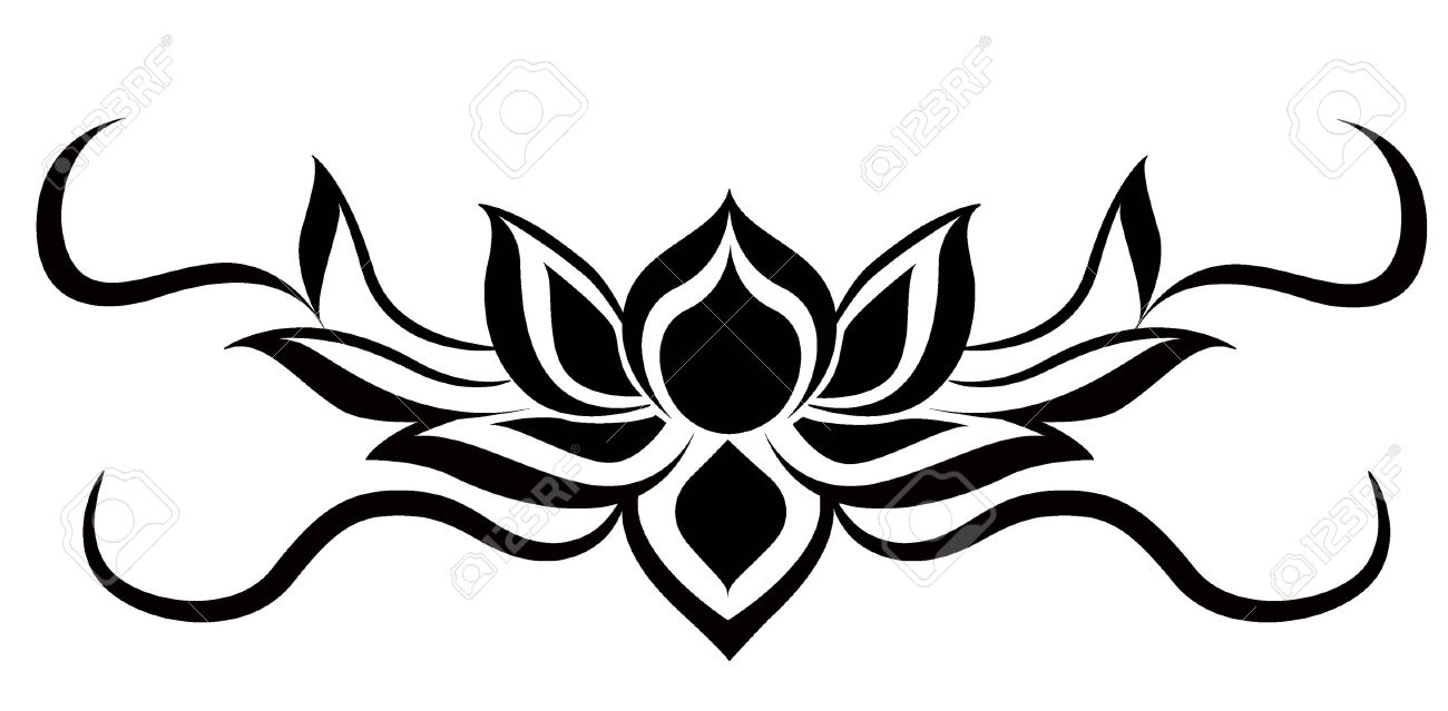 vector lotus on white backgound royalty free cliparts vectors and rh 123rf com lotus vector design locus vector maps