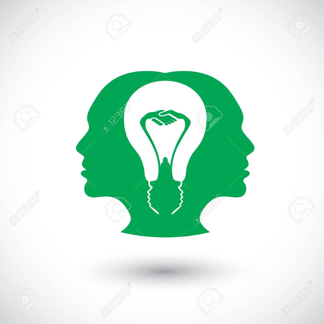 Symbol of thinking idea together brainstorm royalty free cliparts symbol of thinking idea together brainstorm stock vector 32481002 biocorpaavc