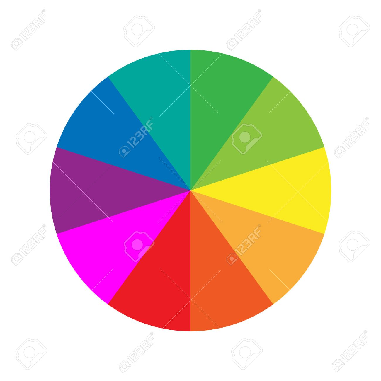 Color Wheel Guide Royalty Free Cliparts Vectors And Stock