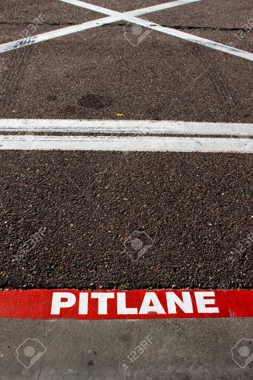 Abstract pitlane Stock Photo - 8540546