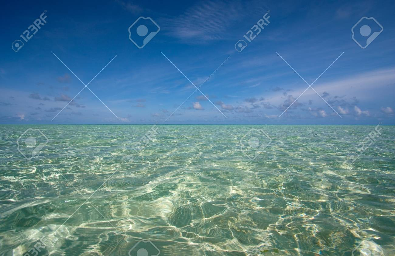 clear water in the tropics Stock Photo - 8540279