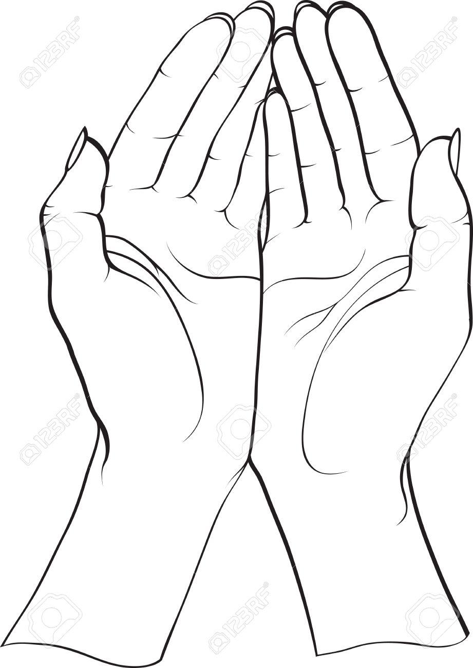 two hands Stock Vector - 8089956