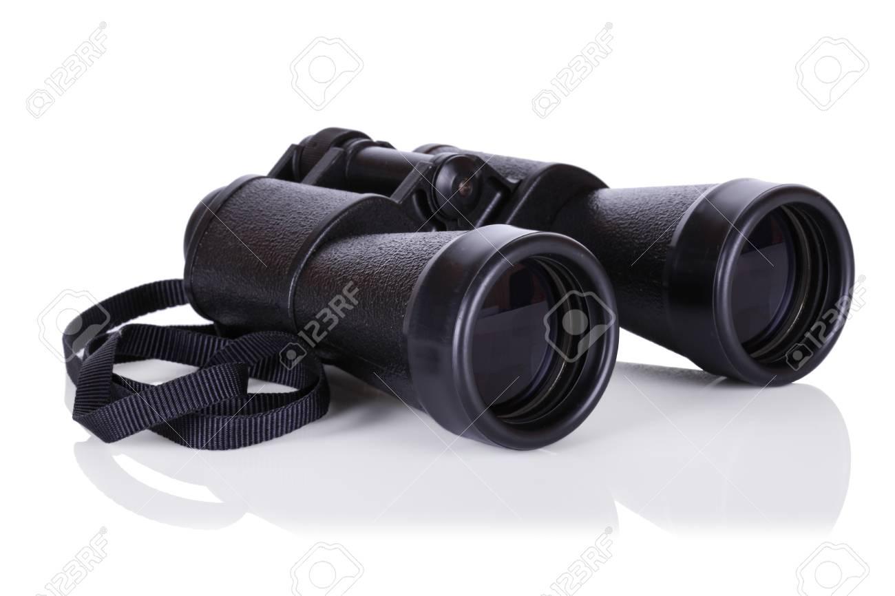 binocular isolated on white Stock Photo - 16682247