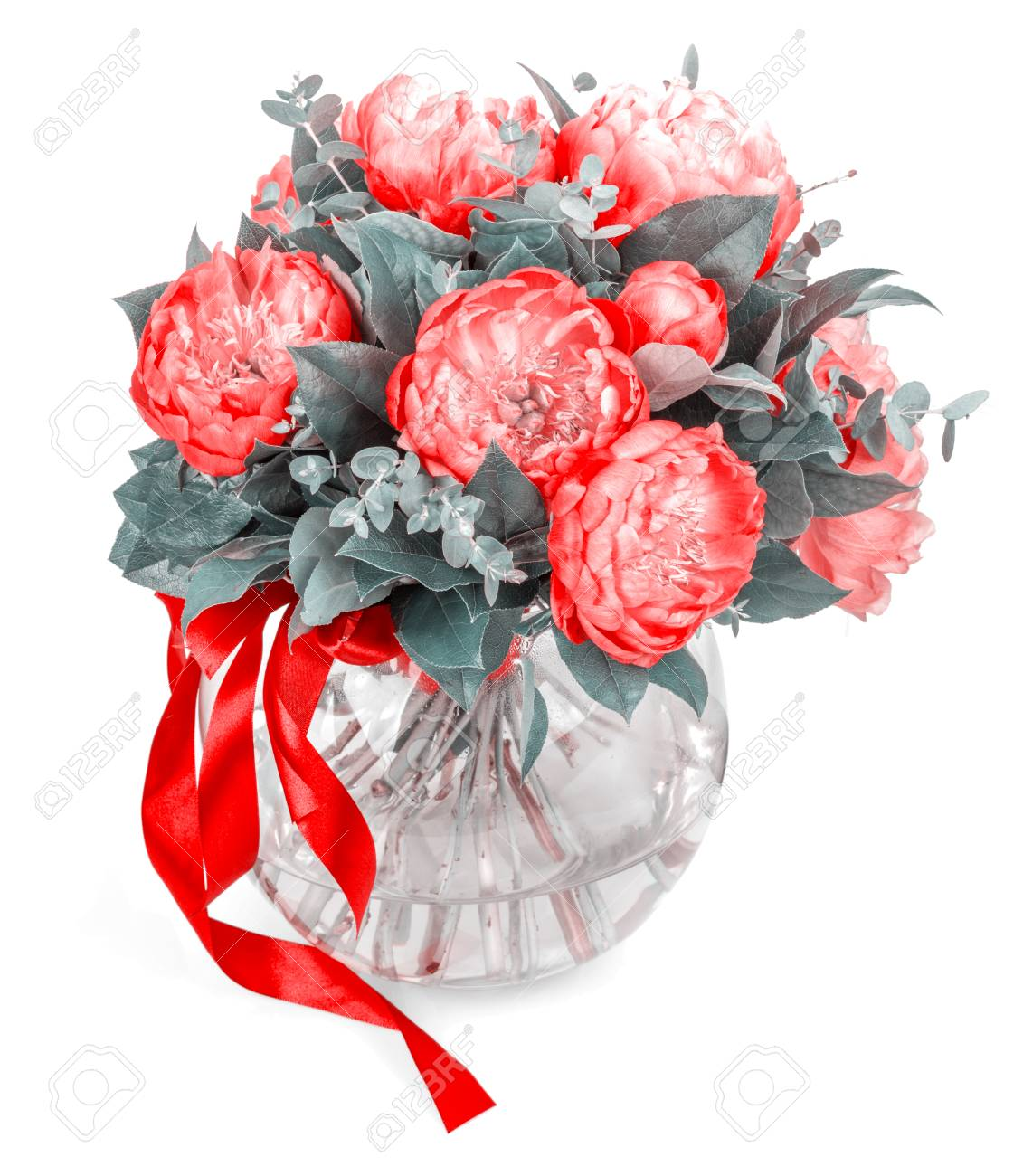 Amazing bouquet of pink pions on white background stock photo amazing bouquet of pink pions on white background stock photo 94107246 izmirmasajfo