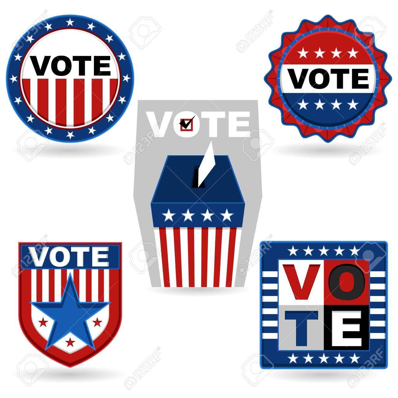Election Emblem Stock Vector - 15755058