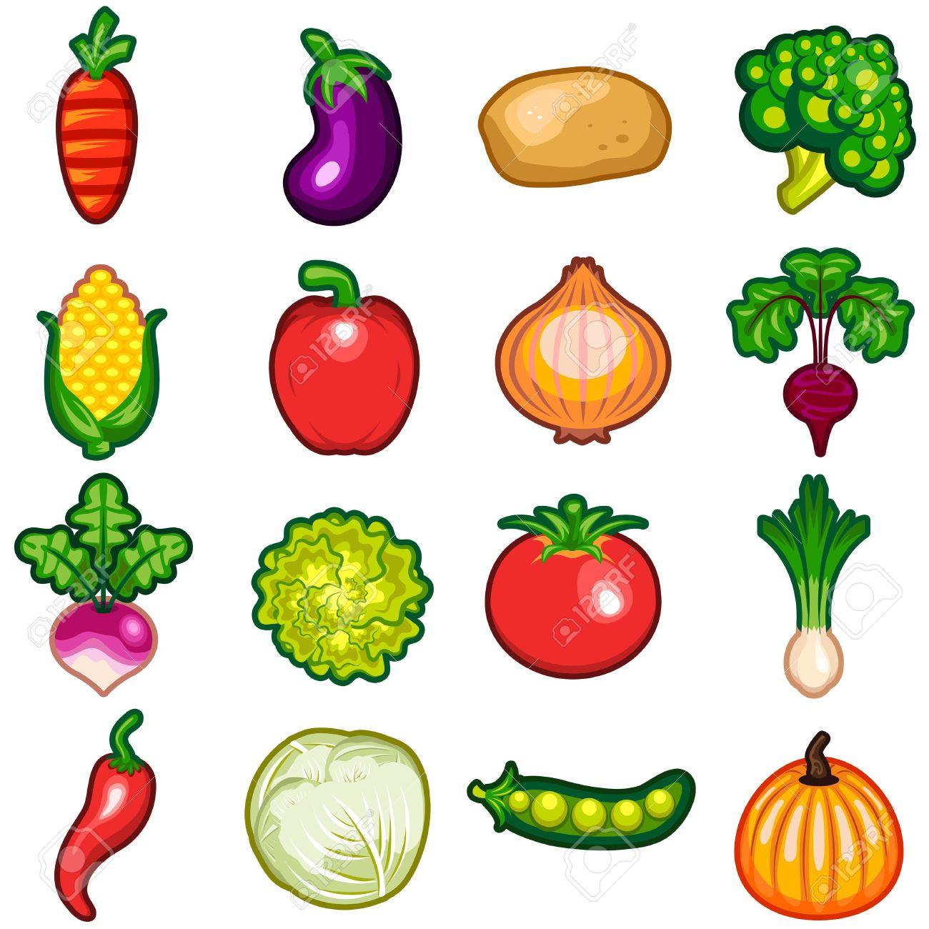 Vegetables Icon Set - 20273083
