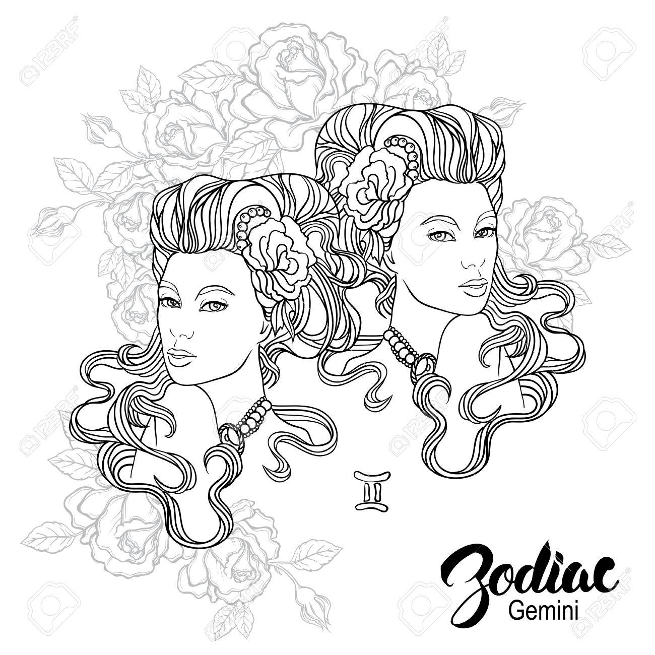 gemini coloring pages.html