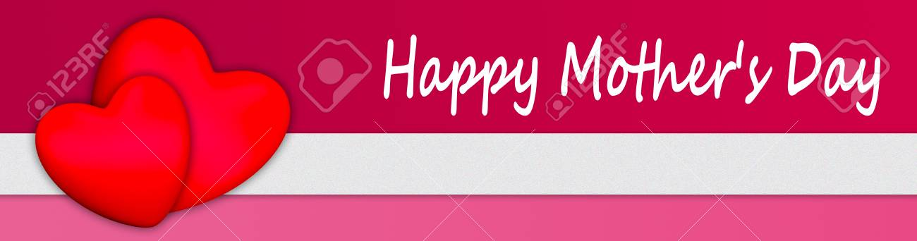 happy 3d mother s day hearts stock photo picture and royalty free