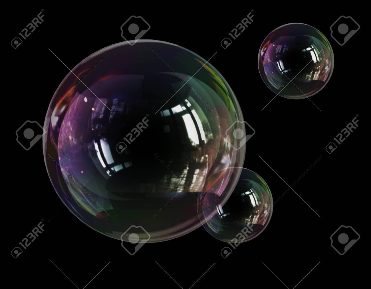 soap bubble lightness fragility - 133168878