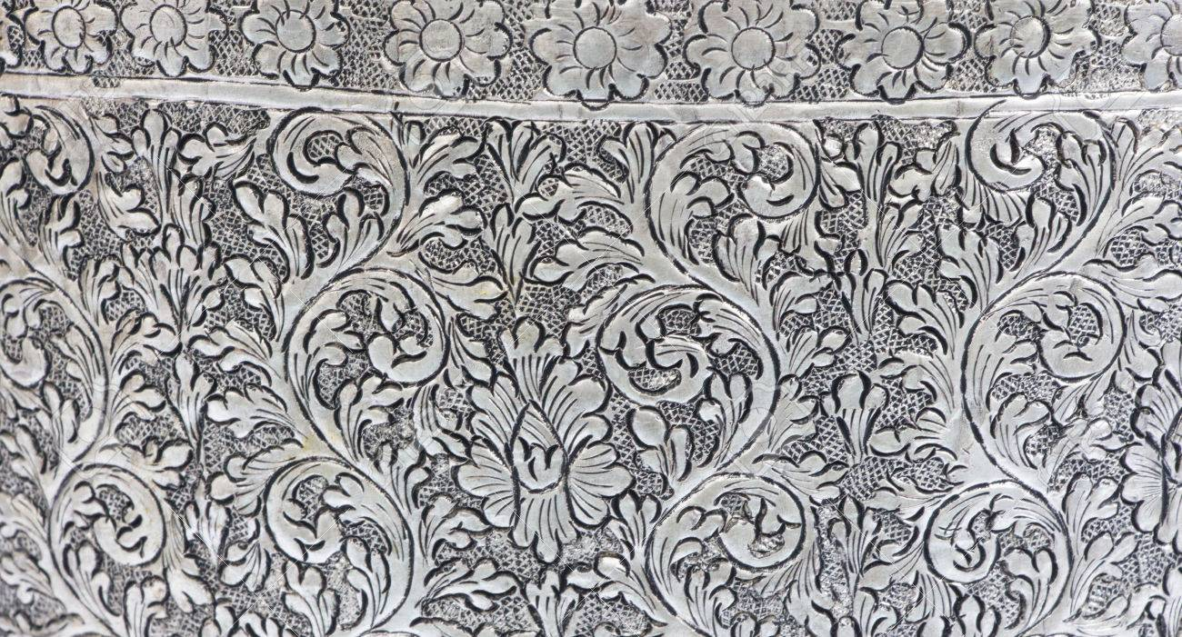 Texture Of Silver Metal Plate Art In Thailand Stock Photo Picture And Royalty Free Image Image 29119675