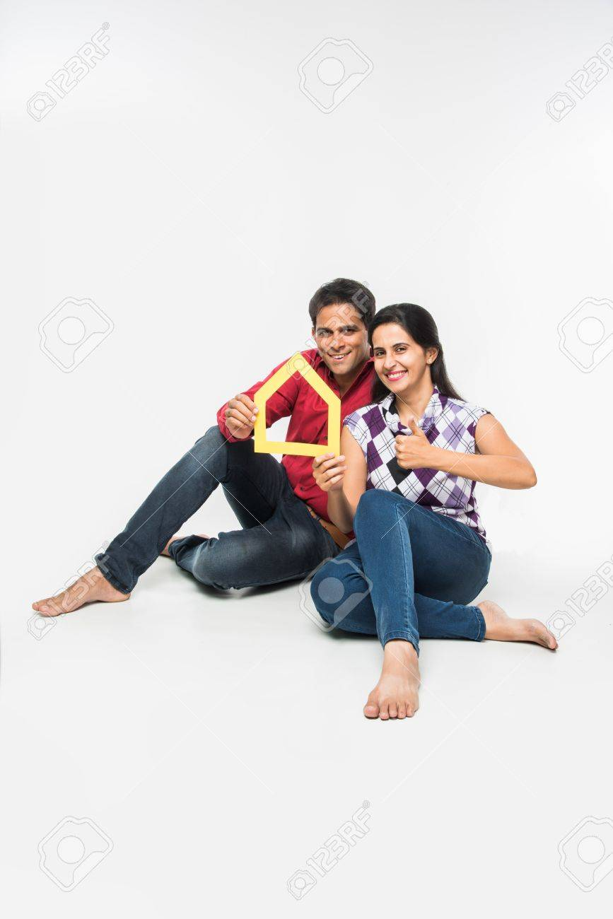 stock photo showing side angle of Indian or asian smart and cheerful