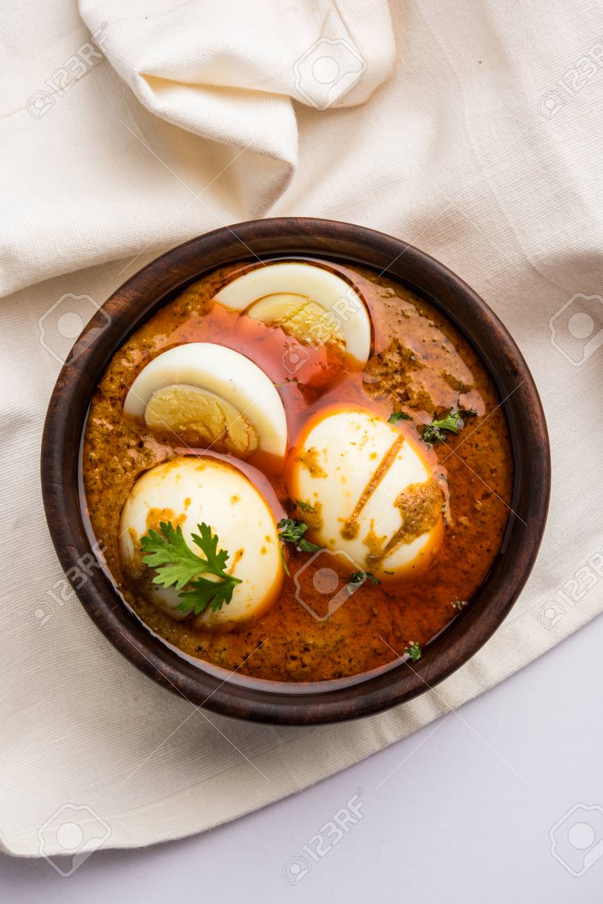 Anda curry or egg curry or egg masala gravy indian spicy food anda curry or egg curry or egg masala gravy indian spicy food or recipe forumfinder Images