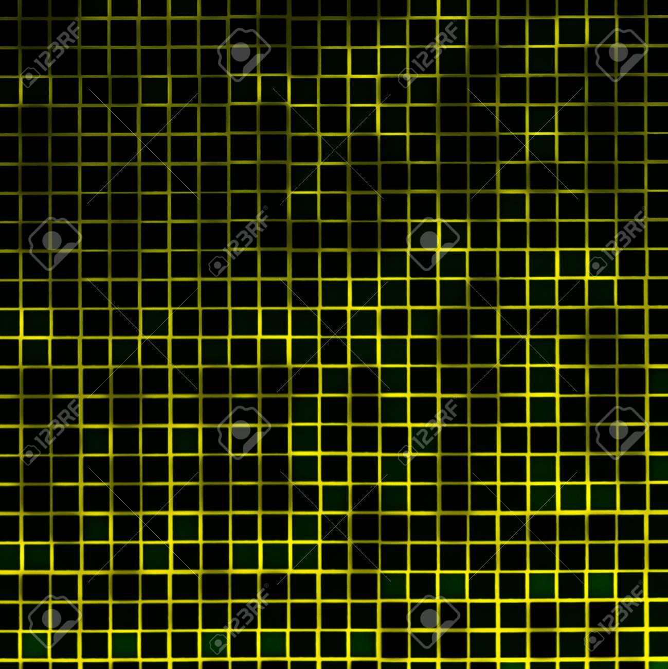Geometric Modern Mosaic Grid Tiles - 123325259