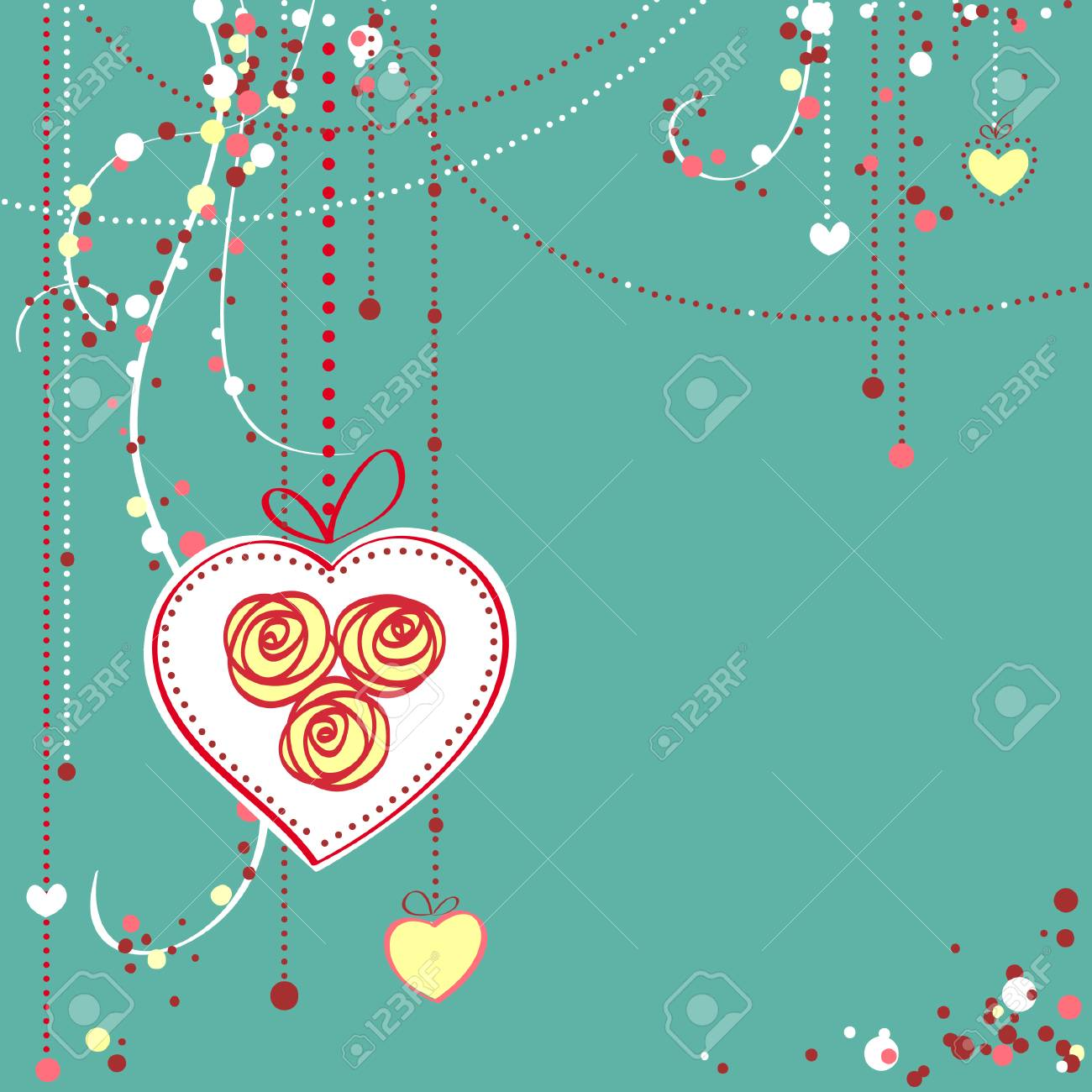 greeting card vector illustration Stock Vector - 6526254