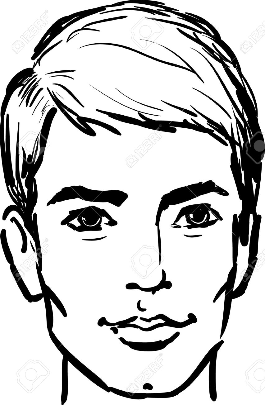 Attractive young man Stock Vector - 6960120