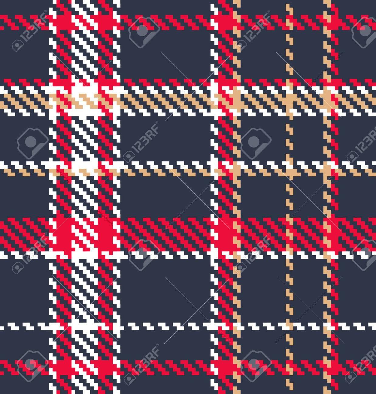 Classic tartan fabric ...