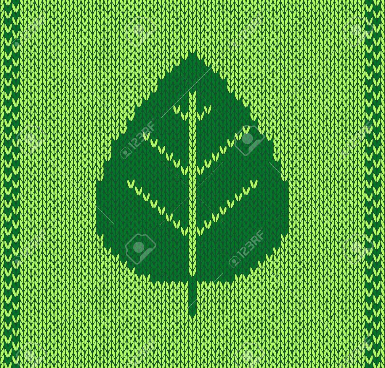 Luxury Strickmuster Blatt Gift - Decke Stricken Muster ...