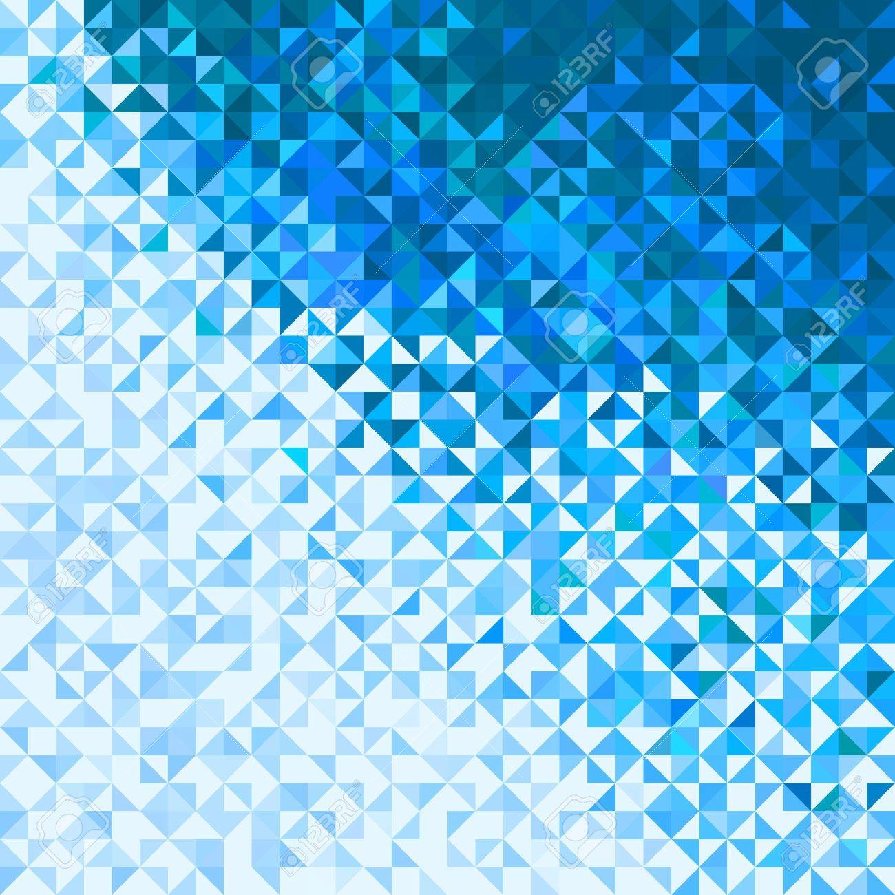 abstract lights blue white winter sky or snow background pixel