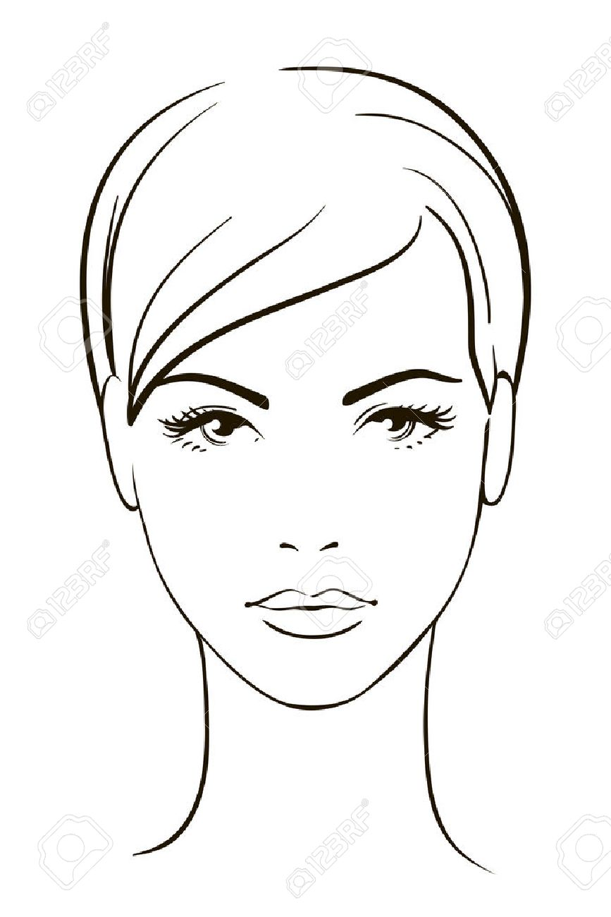 young woman face royalty free cliparts vectors and stock rh 123rf com face bacterial infection face bacterial infection