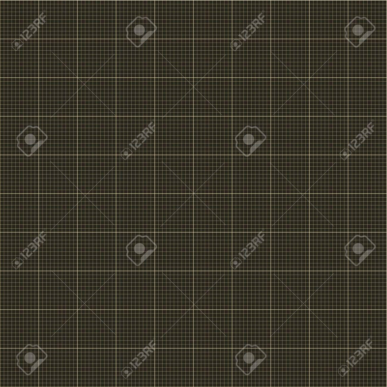 seamless millimeter grid graph paper engineering paper dark